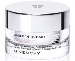 Stop zmarszczkom! Przeciwzmarszczkowy krem pod oczy Smile'n Repair od Givenchy.