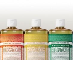 Mydła Dr Bronner's – biodegradowalne, wegańskie i całkowicie eko